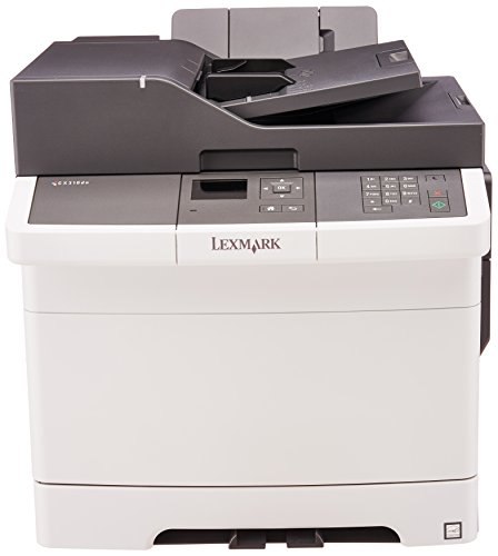 Lexmark CX310dn Color All-In One Laser Printer with Scan, Copy, Network Ready, Duplex Printing and Professional Features (Lexmark Refill Instructions)
