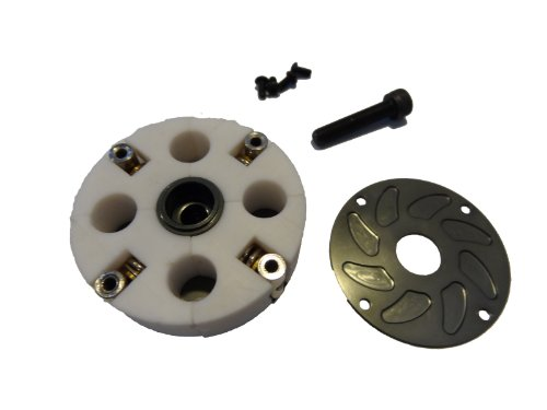 Rovan RC Four Shoe Teflon Adjustable Clutch System (gun metal) ()