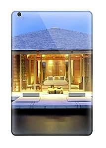 Benailey Ipad Mini/mini 2 Hybrid Tpu Case Cover Silicon Bumper Architecture Houses