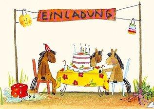 Schön Einladungskarten Kindergeburtstag Pferde