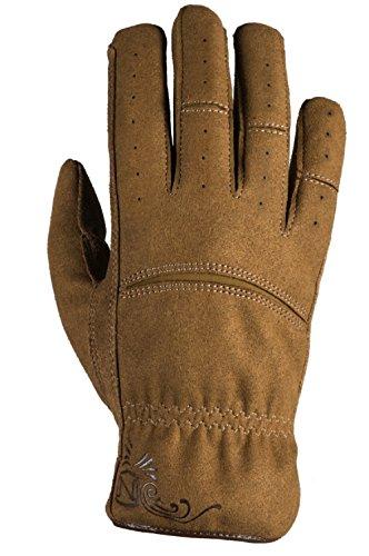 Noble Outfitters Working Womens Dakota Work Glove Horseback Tough Heavy Duty Gloves Tobacco (Large)