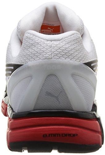 Puma Faas 600 S - Zapatillas, unisex Weiß (Wht/Silv/Blk)