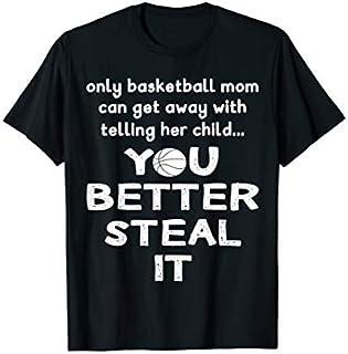 Birthday Gift Basketball Mom Funny Design - Only A Basketball Mom  Long Sleeve/Shirt