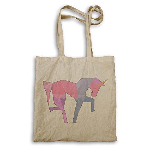 Unicorno Divertente Nuovo Positivo Positivo Ispirare Tote Bag D142r