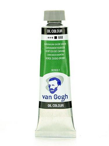 Van Gogh Oil Color chrome oxide green 40 ml (1.35 oz) - Chrome Oxide Green