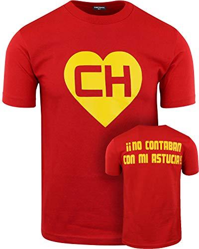 ba73d626c925 ShirtBANC Chespirito Chapulin Colorado Mens Shirt (XL, Chapulin Colorado)