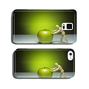 Green apple cell phone cover case iPhone5