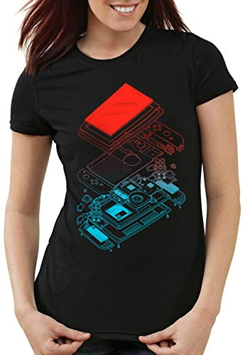 Switch Games con Hormiga mujer Exploded de Gamer Video Joy Playera TxdHpqS