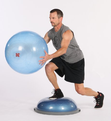 Bosu Ball Best Price: Bosu Balance Trainer And Ballast Ball Combo Kit