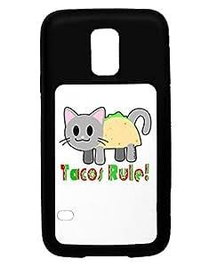 TooLoud Tacos Rule Taco Cat Design Galaxy S5 Case