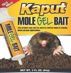 Kaput Mole Gel Bait-1 box of 3 oz. tubes KAP001 by Kaput