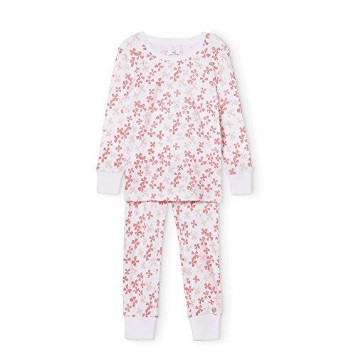 Sleeve 2 Piece Pajamas - aden + anais Pajama Set, 2 Piece, 100% Cotton Sleepwear, Blossom, Size 18M