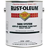 Rust-OLEUM H7195 5600 Floor Paint Safety Yellow 1 gal.