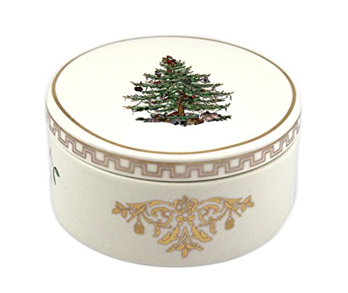Spode Christmas Tree Gold Round