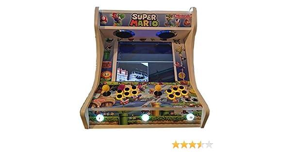 Arcade BARTOP VIDEOCONSOLA Retro máquina recreativa -Tamaño Real ...
