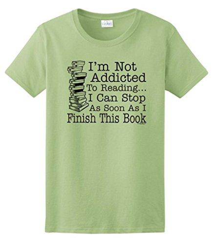 Addicted Reading Finish Ladies T Shirt
