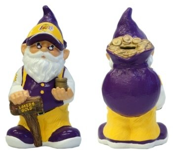 Forever Collectibles NBA Los Angeles Lakers Team Gnome Bank by Forever Collectibles
