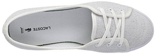 Sneaker Textile Chunky White Lacoste Women's Ziane qnEwR8xntX