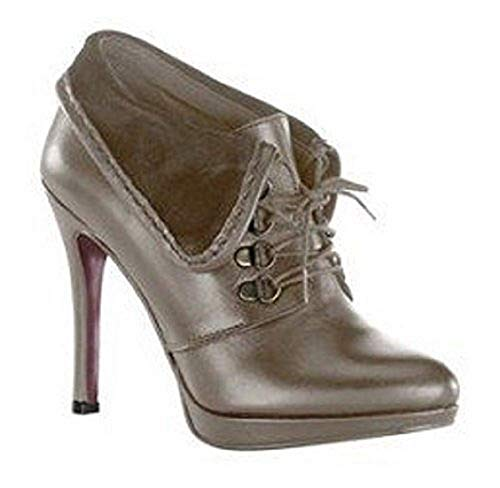 Femme Bateau Stiefelette Chaussures Gris Chillany Taupe Pour xqIBwRdE