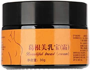 Breast Enhancement Cream, Natural Breast Firming and Lifting Cream 30g Pueraria Breast Firming Bust Enlargement Lifting Cream Skin Care
