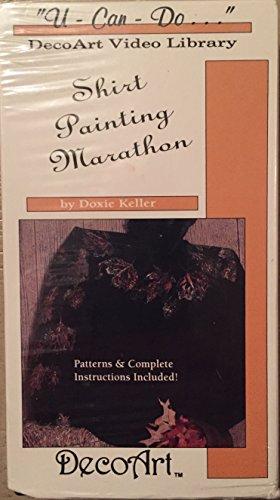 Decoart Painting - U-Can-Do DecoArt Shirt Painting Marathon VHS