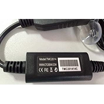 TMC External attena, cable de carga para coche con antena TMC integrada y Micro USB Conector (sólo para nuestros navegadores GPS): Amazon.es: Electrónica