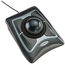 Kensington 64325 - Trackball (Tecnología de detección de movimientos: Óptico), negro