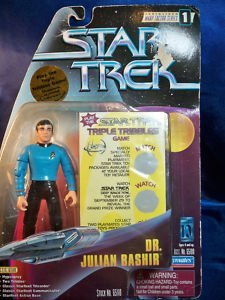Star Trek: Warp Factor Series 1 Dr. Julian Bashir Action Figure