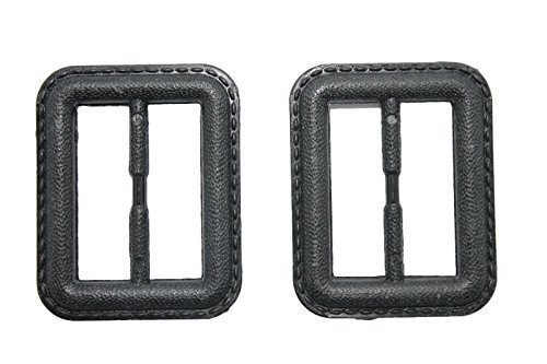 Trimming Shop 2 X 35mm Black Buckle For Men And Women 475 Unisex Buckle For Coat Jacket Belt Bag Accessory For Sewing Supplies Arts And Crafts 475 Coat