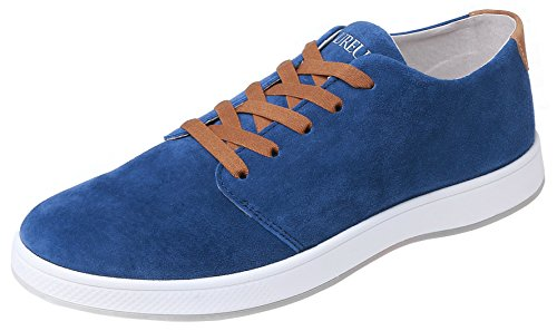 Low Blue Top Men's Aureus Shoe Nubuck Royal Leather Insignia BaFxxnZI