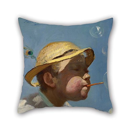 alphadecor-oil-painting-paul-peel-the-bubble-boy-pillow-shams-20-x-20-inches-50-by-50-cm-gift-or-dec