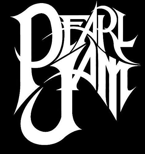 Pearl Jam logo sticker Decal (Choose color) Vinyl (Choose Vinyl Color)