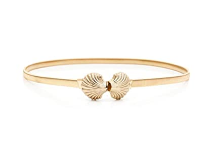 3557b53ff8759 Amazon.com   DRAGON SONIC Lady Elastic Spring Chain Shell Decorative ...