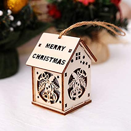flymall led colorful christmas decorations christmas decorations outdoor house lights christmas tree decorations hanging gift window - Outdoor Christmas Decorations Small House