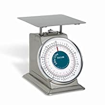 Taylor THD50 Heavy-Duty Mechanical SS Food Scale, 50LB and 22 Kg