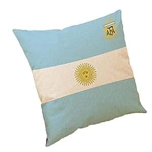The World Soccer Cup Home Decor Cushion Cover Linen Sofa Design Throw Pillow Case Gift Style 1