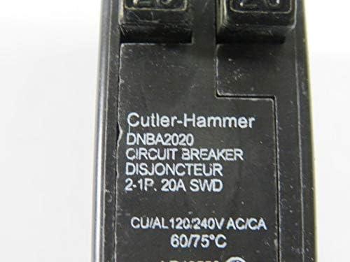 DNBA2020 CUTLER HAMMER BOLT ON TWIN BREAKER