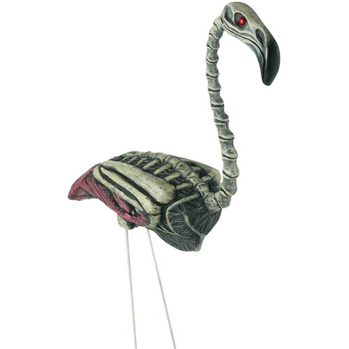 Flamingo Zombie Halloween Prop