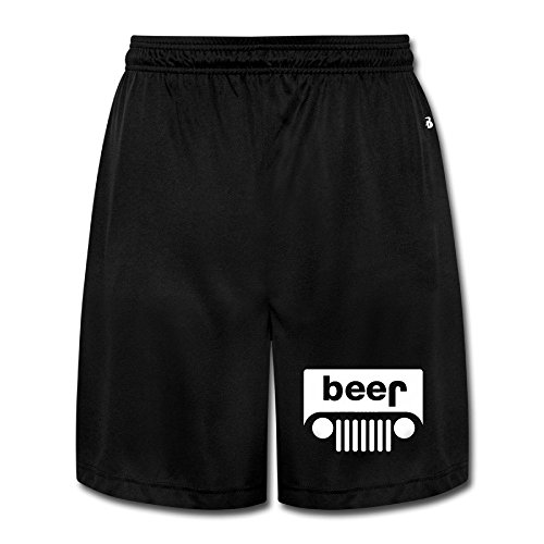 [Beer Performance Shorts Sweatpants Men's Short Jogging PantsCool] (Male Wench Costume)