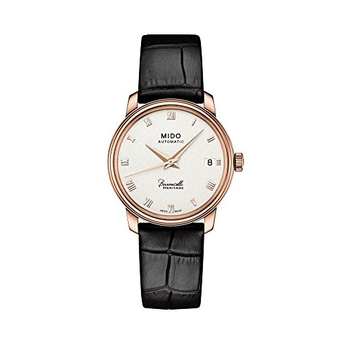 Mido Baroncelli III Automatic Silver Dial Ladies Watch M0272073601300