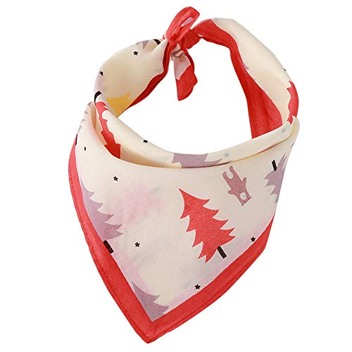 - Designer Puppy Accessory for Boy and Girl Dogs Cotton Soft Cute Breathable Dog Scarf Saliva Towel Pet Accessories Signature Pet Dog Bandana Scarf Triangle Bib Kerchief for Dogs (Multicolor, A)
