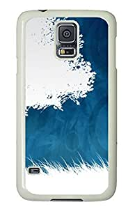 Samsung Galaxy S5 wholesale covers Abstract Circles PC White Custom Samsung Galaxy S5 Case Cover by icecream design