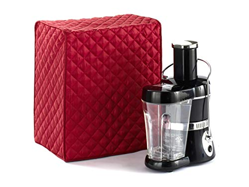 Covermates - Juicer Cover - 17W x 12D x 20H - Diamond Collection - 2 YR Warranty - Year Around Protection - Red (Best All Around Juicer)