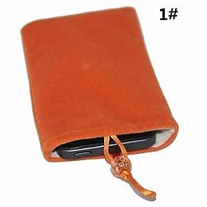 Procesamiento de dos días -Terciopelo bolsa protectora de algodón para el iphone 5/5s,2
