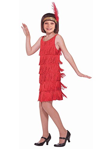 20's Flapper Child Costume, Medium