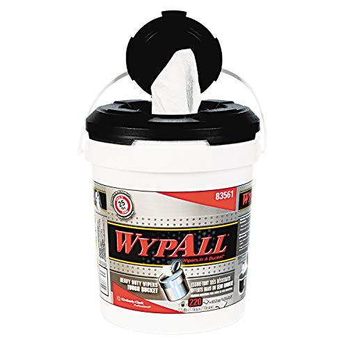 (WypAll 83561 X70 Wipers in a Bucket, 10 x 13, 220 per Bucket (Case of 2 Buckets))