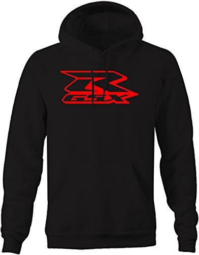 Apparel Suzuki - Suzuki Gsxr Gixxer Motorcycle Performance Racing Mens Sweatshirt - Large