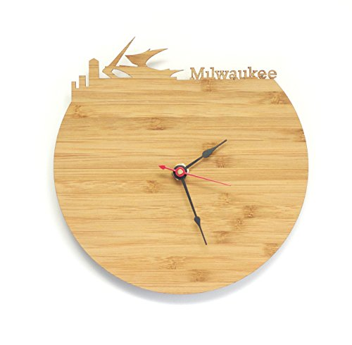 Milwaukee Skyline Clock