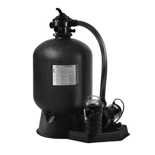 Pentair Sta-Rite SRCF2022DF1260 Cristal-Flo II Aboveground Sand Filter System with 1-1/2 HP Dynamo Pump by Pentair