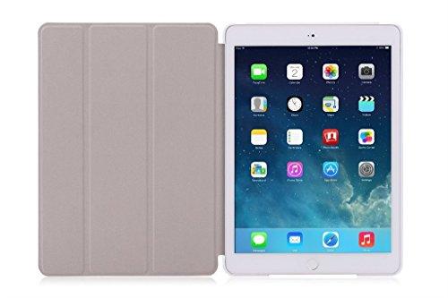 iPad Air Case + Transparent Back Cover - Bonsai plants - [Auto Wake/Sleep Function] [Ultra Slim] [Light Weight]